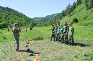 ВПК «БАрС» стал участником Всероссийского туристского слёта военно-патриотических клубов «Алтай-2018»