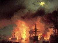ПАМЯТНЫЕ ДАТЫ ВОЕННОЙ ИСТОРИИ РОССИИ: 7 июля 1770 год - Чесменское сражение