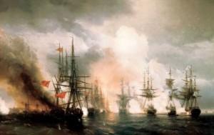 ПАМЯТНЫЕ ДАТЫ ВОЕННОЙ ИСТОРИИ РОССИИ: 1 декабря 1853 года Синопский бой