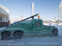 Определились победители республиканского конкурса снежных скульптур «Оружие Победы»