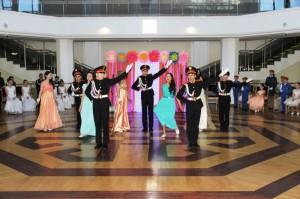 Бал кадетов состоялся в Республике Алтай