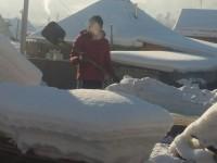 Студенты ГАГУ оказывают ветеранам помощь по уборке снега