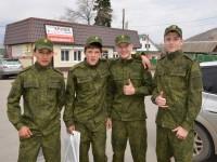 Межрайонный военно-спортивный праздник «День призывника» состоялся в Майме