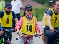 В Горно-Алтайске состоялся третий благотворительный велопробег «Добрый Bike»