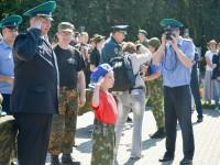 Курсантам военно-патриотического лагеря «Честь имею! Горный Алтай» вручили васильковые береты