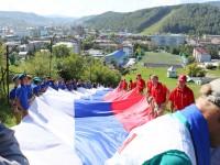 Около 2 000 человек приняло участие в праздновании Дня государственного флага в муниципалитетах Республики Алтай