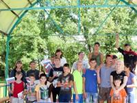День флага в летнем лагере «Черемушки»