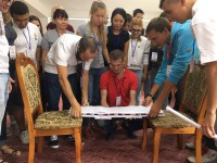 Обучение волонтеров Всемирного фестиваля молодежи и студентов проходит в Республике Алтай