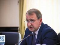 Алексей Бондаренко провел пресс–конференцию, посвященную началу учебного года
