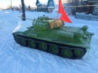 В Республике Алтай проходит конкурс снежных скульптур «Оружие Победы»