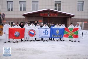 Курсанты военно-патриотических клубов примут участие в «Ледовом марафоне - 2018»