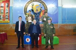 В Горно-Алтайске прошёл турнир по рукопашному бою для ВПК