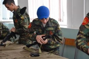 17 апреля состоится военизированная эстафета для призывников