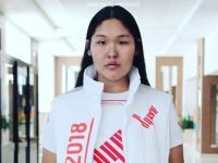 Студентка ГАГУ примет участие в Параде Победы на Красной Площади