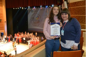 Арина Веревкина заняла четвёртое место на молодёжных Дельфийских играх