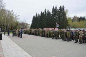 Торжественная отправка на учебные сборы состоялась в Горно-Алтайске