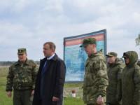 Алексей Бондаренко проконтролировал ход учебных военно-полевых сборов