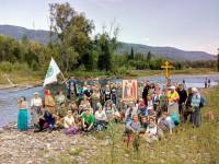 Крестный ход «По стопам миссионеров Алтайских» 2019