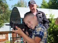 В Республике Алтай продолжается акция «Каникулы с Росгвардией»