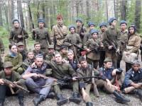В Республике Алтай прошла военно-историческая реконструкция «Как зарождалась победа»