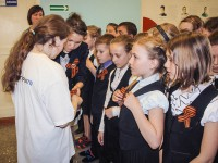 22 апреля стартовала всероссийская акция «Георгиевская ленточка»