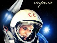 Сегодня страна отмечает День Космонавтики