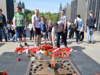 Автопробег «День победы» в честь 71-ой годовщины Победы прошел в Республике Алтай
