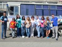 Студенты из Республики Алтай отправились на молодежный форум «Алтай. Точки Роста»
