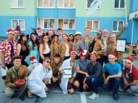 Бойцы студенческих отрядов встречают Новый год!