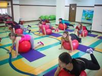 Участницы Недели молодой мамы посетили фитнес занятия