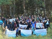 Новосибирских студентов из Республики Алтай посвятили в первокурсники