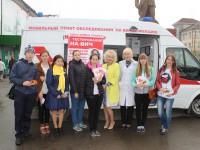 Активисты движения «СТОПНАРКОТИК-Горно-Алтайск» сдали кровь на анализы по выявлению ВИЧ